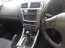 Lexus Is, 2007 (07) Black Saloon, Manual Diesel, 112,000 miles