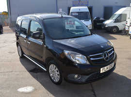 2014 MERCEDES-BENZ CITAN 111 CDI MOT UNTIL FEBRUARY 2014