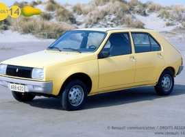 Renault 14 TL information wanted.