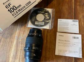 Canon Macro lens 100mm f/2.8