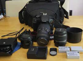 Cannon T2i/550D Camera Kit (with three lenses)