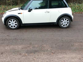 Mini MINI, 2004 (04) White Hatchback, Manual Petrol, 130,641 miles