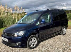 2015 Volkswagen Caddy Maxi C20 Life TDI Diesel Automatic WAV Wheelchair Disabled