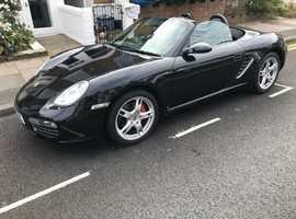 Porsche Boxster S, 2005,Black Convertible, Trip Tronic, Petrol, 65,000 miles