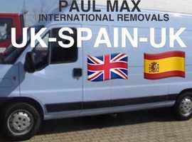 Spain-UK Removals