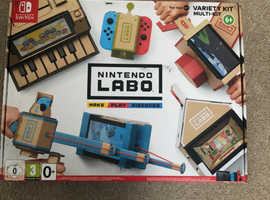 Nintendo Labo Toy-Con 01 and customisation set