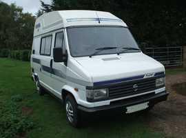 Talbot, Holdsworth camper 57000 miles petrol 1993 2 berth new MOT