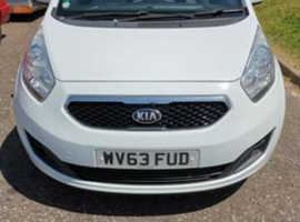 Kia Venga, 2013 (63) White Hatchback, Manual Diesel, 69,000 miles
