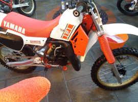 Yamaha yz125 1984 evo