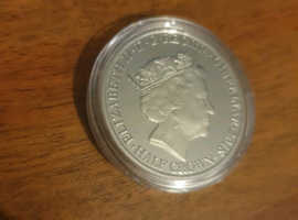 Silver plated coin