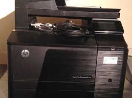 hp laser pro 200 colour multi function printer m276nw