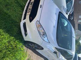 Ford Fiesta stline 2017 (17) White Hatchback, Manual Petrol, 29,000 miles