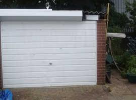 Sectional Concrete Garage.