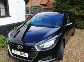 Hyundai i40, 2016 (16) Black Saloon, Semi auto Diesel, 48,504 miles