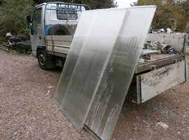 Polycarbonate Roofing sheets 16 mm  Thick,, X 180 Long X 70mm wide