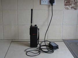 Hand-held radiotelephone. Maracom M6000 FM/VHF