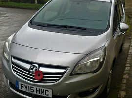 Vauxhall Meriva, 2015 (15) Silver MPV, Manual Diesel, 32,920 miles