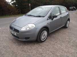 Fiat Grande Punto, 2006 (06) Petrol, 76,000 miles