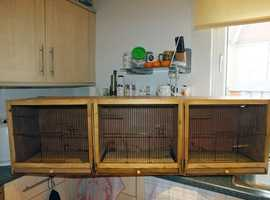 Triple Breeding Cage for Canarys' or Budgies'.