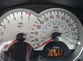 Vauxhall Tigra, 2007 (07) Blue Convertible, Manual Petrol, 51,571 miles