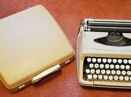 1960s/70s Empire-Corona de luxe, SCM, Portable Typewriter