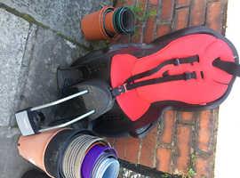 Hamax child bike seat.