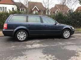 Volkswagen Passat, 2004 (04) Blue Estate, Automatic Diesel, 180,878 miles