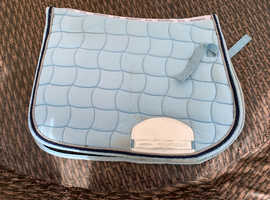 WeatherBeeta Blue Saddle Pad