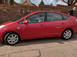 Toyota Prius, 2007 (07) Red Hatchback, Cvt , 109,300 miles