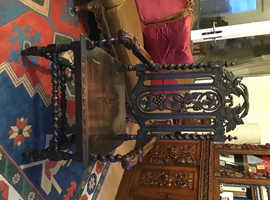 CARVED ARM CHAIR VICTORIAN