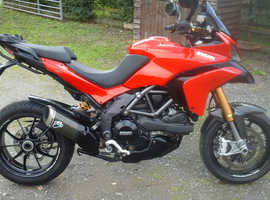 Ducati Multistrada 1200S in fantastic condition.