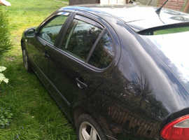Seat Leon, 2004 (54) black other, Manual Diesel, 150000 miles