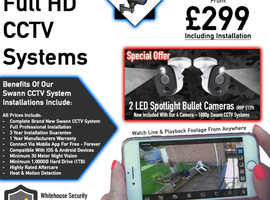 2020 Swann CCTV Systems -- Supplied & Installed  -- 5 Star Rated -- Northamptonshire