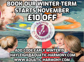 NEWBORN TO PRESCHOOL SWIMMING LESSONS IN CALNE