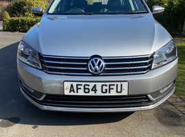 Volkswagen Passat, 2014 (64) silver estate, Manual Diesel, 112,200 miles