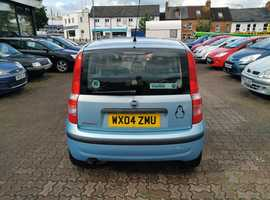 Fiat Panda, 2004 (04) Blue Hatchback, Manual Petrol, 138,262 miles