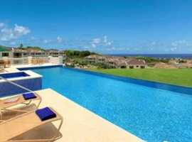 Barbados Holiday Apartment  with Fantastic Caribbean Sea View for Holiday Rent