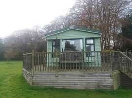 Willerby Salisbury static caravan for sale with decking Lake District