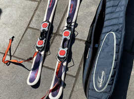 Salomon Snowblades & ski bag