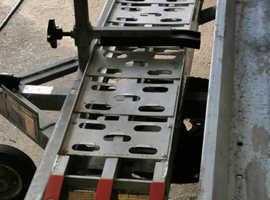 Side loading trailer.