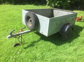 Galvanised Trailer approx 5' x 4'