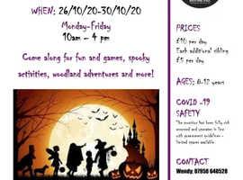 Halloween Holiday Club