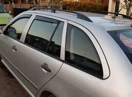 Skoda Fabia, 2001 (51) Silver Hatchback, Automatic Petrol, 129 miles