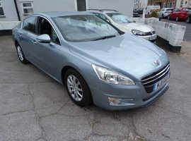 Peugeot 508, 2011 (11) Blue Saloon, Manual Diesel, 106,000 miles