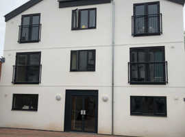 Spacious newly built  studio flats for rental in Cullompton, good transport links to Exeter and nearby areas.