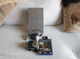 Silver  Limited Edition Playstation 2 Console