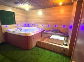 Book Indoor Hot Tub Party from £25