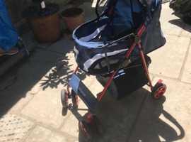Dog stroller excellent condition