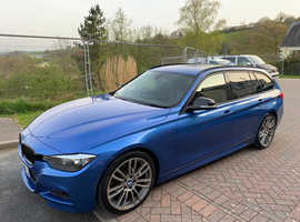 BMW 3 Series, 2012 (62) estriol Blue Estate, Automatic Diesel, 145,000 miles