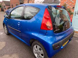 Peugeot 107, 2009 (09) Blue Hatchback, Manual Petrol, 59,740 miles